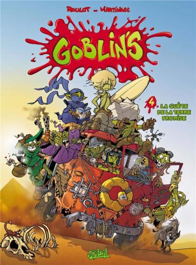 Couverture Goblin's tome 4