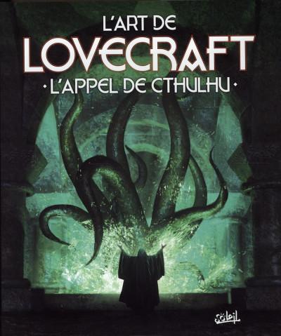 Couverture l'art de h.p. lovecraft ; l'appel de cthulhu