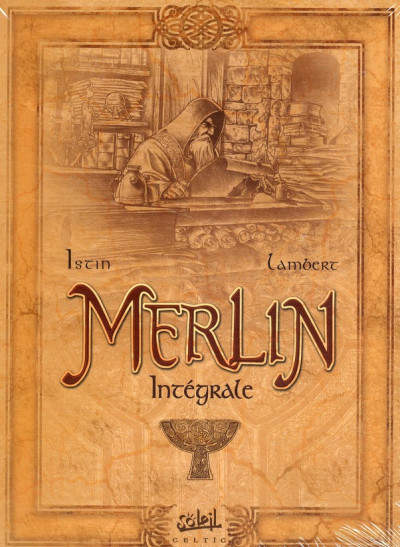 Couverture merlin - intégrale tome 1 à tome 10