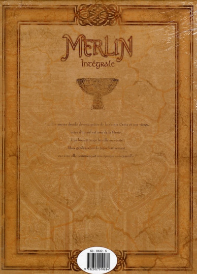 Dos merlin - intégrale tome 1 à tome 10