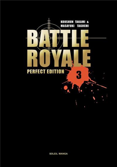 Couverture battle royale - deluxe tome 3