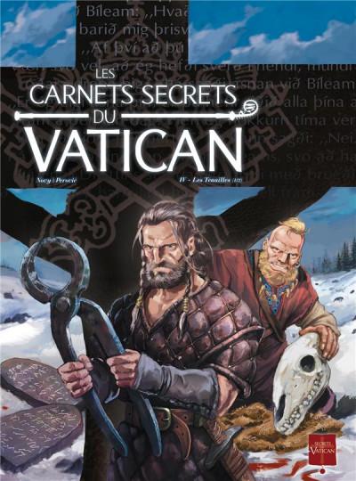 Couverture les carnets secrets du vatican tome 4