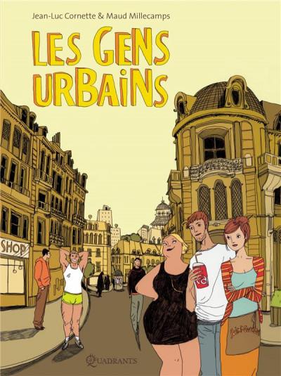 Couverture les gens urbains