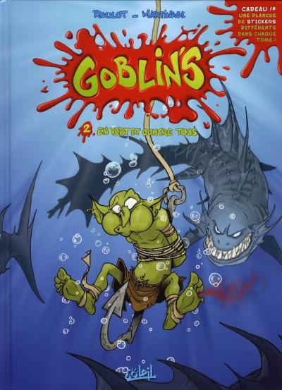 Couverture goblin's tome 2 - en vert et contre tous