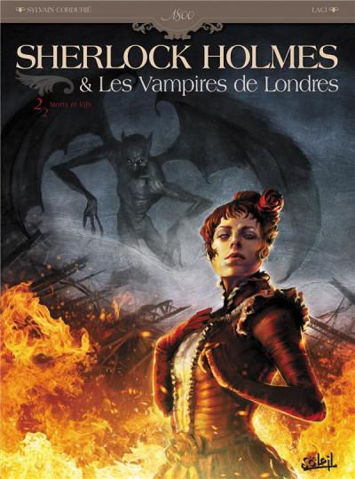 Couverture sherlock holmes et les vampires de londres tome 2