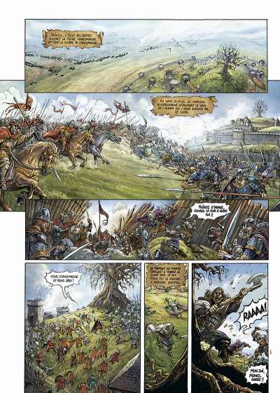Page 5 durandal tome 1 - les marches de bretagne