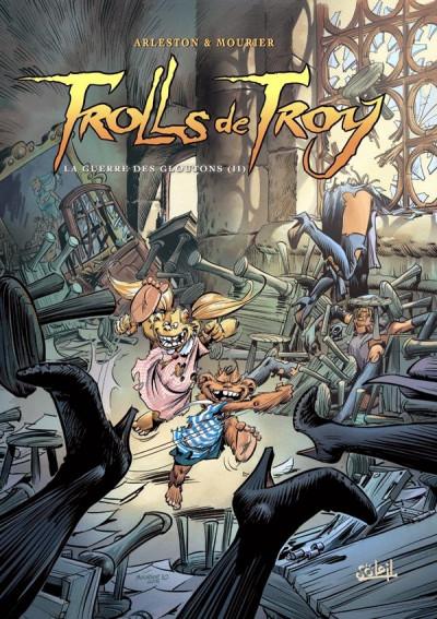 Couverture trolls de Troy tome 13 - la guerre des gloutons tome 2