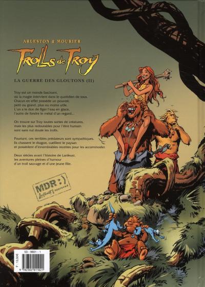 Dos trolls de Troy tome 13 - la guerre des gloutons tome 2