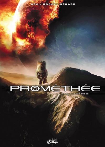 Couverture Prométhée tome 3