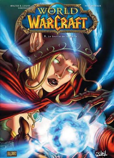 Couverture world of warcraft tome 9 - le souffle de la guerre