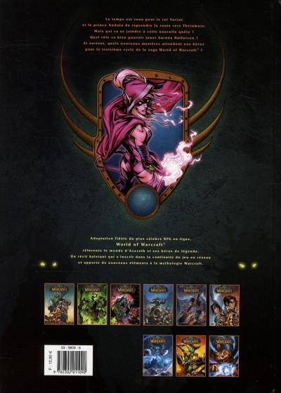 Dos world of warcraft tome 9 - le souffle de la guerre