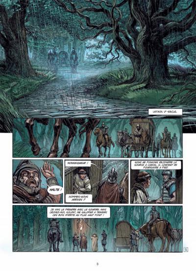 Page 1 Ys la légende tome 1