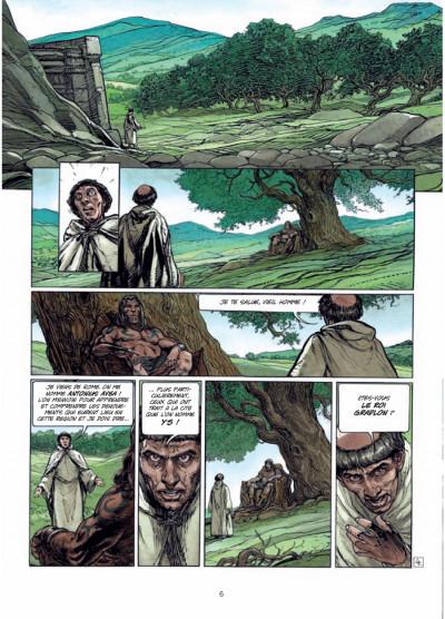 Page 4 Ys la légende tome 1