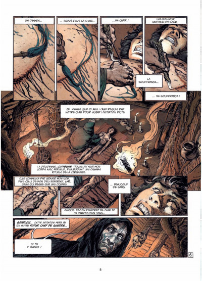 Page 6 Ys la légende tome 1