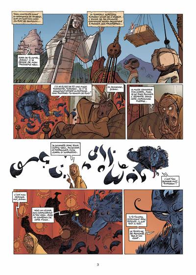 Page 4 sinbad tome 3 - les ombres du harem