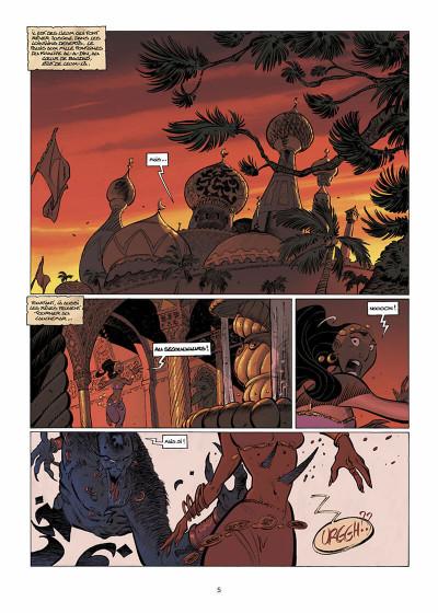 Page 6 sinbad tome 3 - les ombres du harem