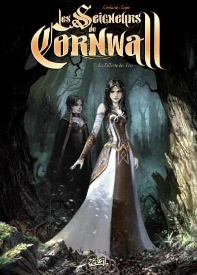Couverture les seigneurs de cornwall tome 2