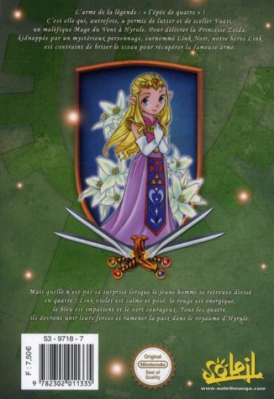 Dos the legend of Zelda T.8 - four swords adventure tome 1