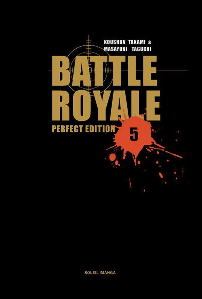 Couverture battle royale- deluxe tome 5
