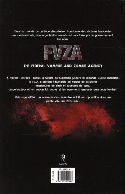 Dos f.v.z.a - federal vampire & zombie agency tome 1