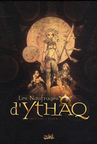 Couverture les naufragés d'ythaq - coffret tome 1 à 3 - ned 2010+exlibris