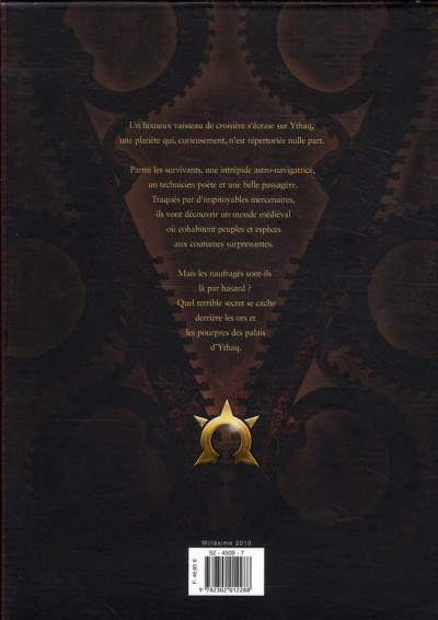Dos les naufragés d'ythaq - coffret tome 1 à 3 - ned 2010+exlibris