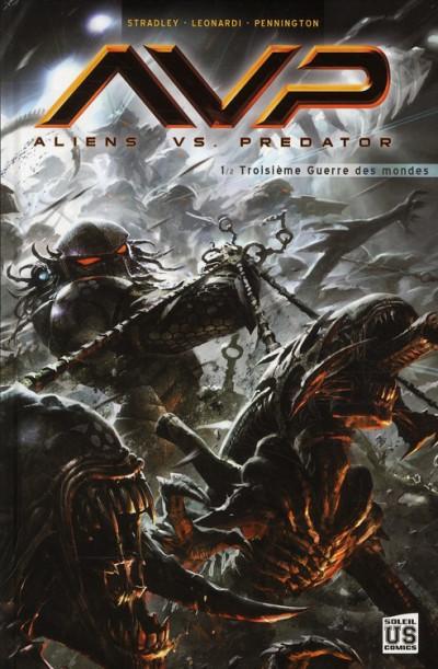 Couverture aliens vs predator tome 1