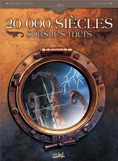 Couverture 20 000 siècles sous les mers tome 1