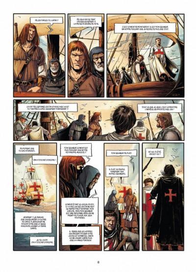 Page 1 templier tome 1 - Dans les murailles de Tyr