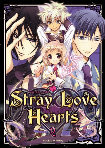 Couverture stray love hearts tome 2
