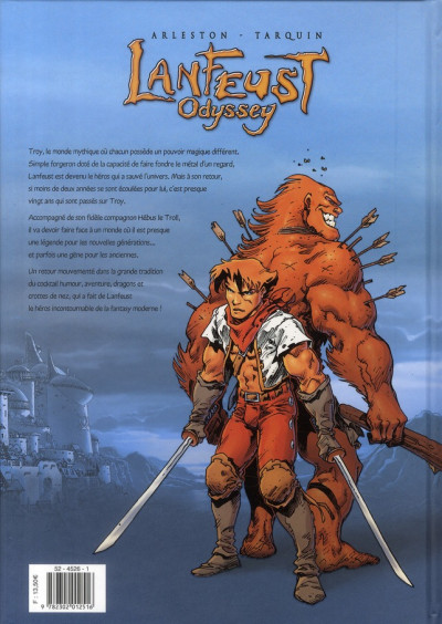 Dos lanfeust odyssey tome 2
