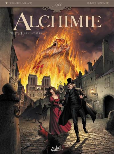 image de alchimie tome 1 - l'épreuve du feu
