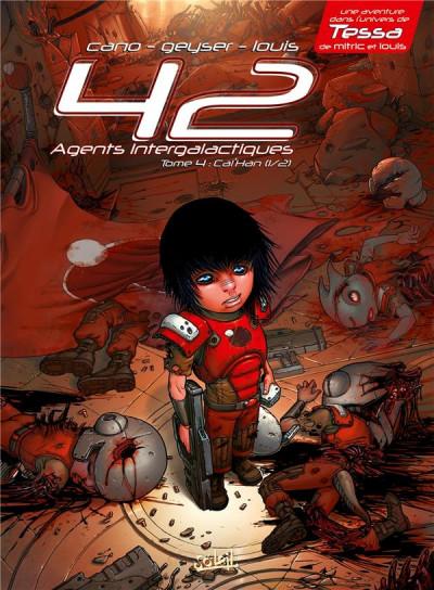 Couverture 42 agents intergalactiques tome 4