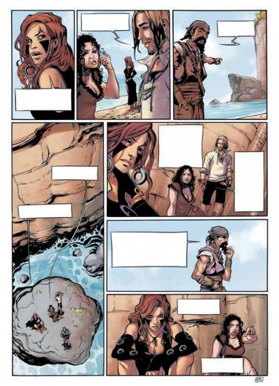 Page 1 Angor T.3 - l'île du sanctuaire