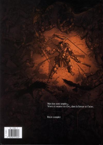 Dos la guerre des orcs tome 1 - L'art de la guerre