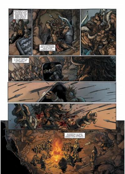 Page 3 la guerre des orcs tome 1 - L'art de la guerre