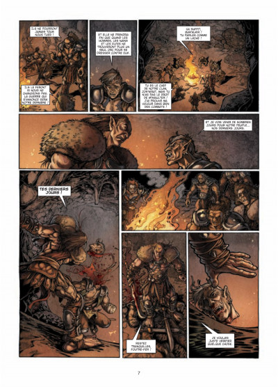 Page 5 la guerre des orcs tome 1 - L'art de la guerre