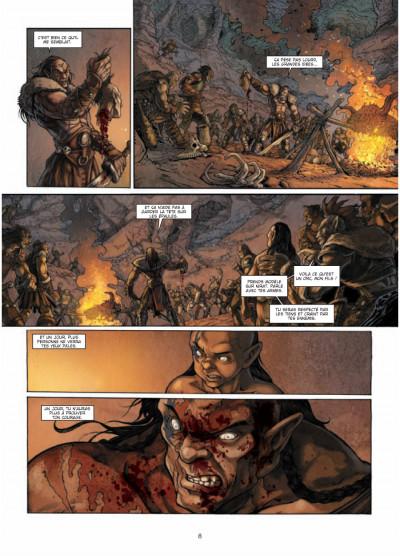 Page 6 la guerre des orcs tome 1 - L'art de la guerre