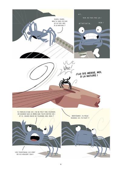 Page 0 la marche du crabe tome 1 - la condition des crabes