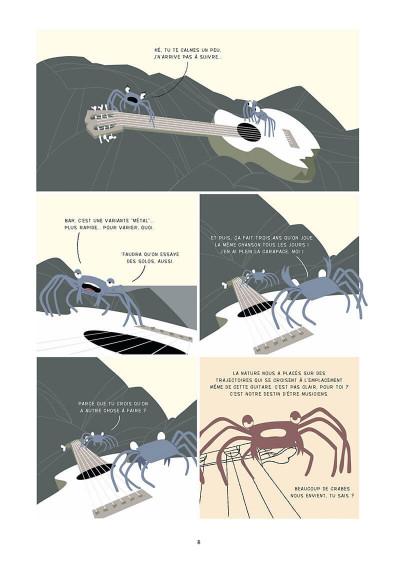 Page 9 la marche du crabe tome 1 - la condition des crabes