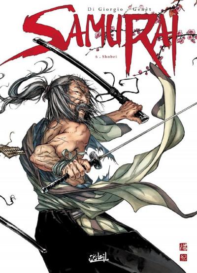 Couverture samurai T.6 - Shobei