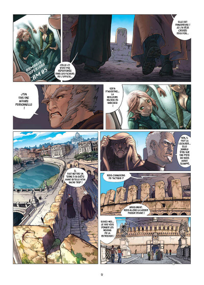 Page 9 Cross fire tome 5