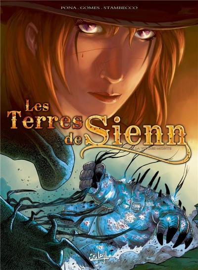 Couverture les terres de Sienn tome 3 - la vie des morts