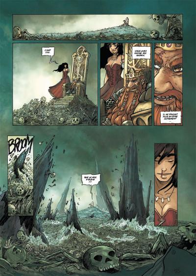 Page 1 les terres de Sienn tome 3 - la vie des morts