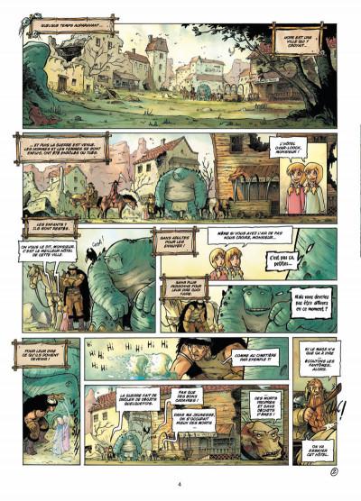 Page 2 les terres de Sienn tome 3 - la vie des morts