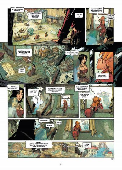 Page 3 les terres de Sienn tome 3 - la vie des morts