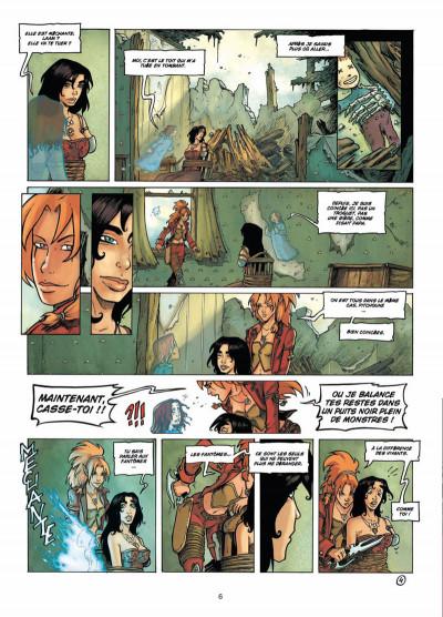 Page 4 les terres de Sienn tome 3 - la vie des morts
