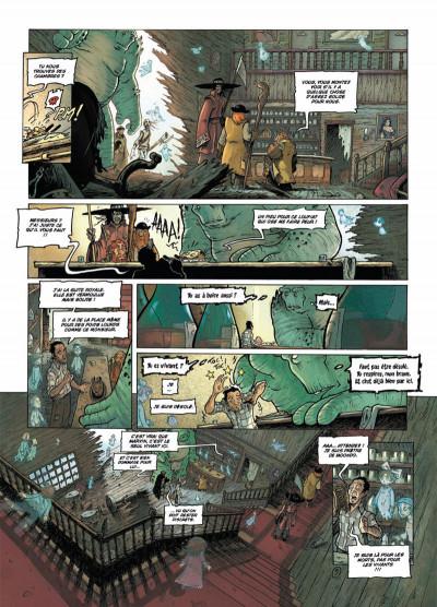 Page 5 les terres de Sienn tome 3 - la vie des morts