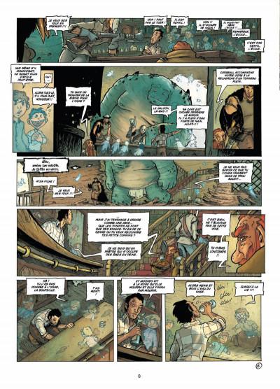 Page 6 les terres de Sienn tome 3 - la vie des morts