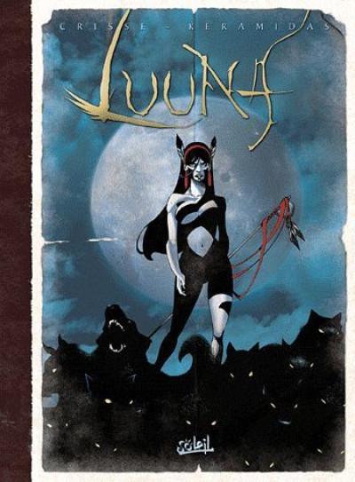 Couverture Luuna - intégrale tome 1 à tome 5 signé par Keramidas !